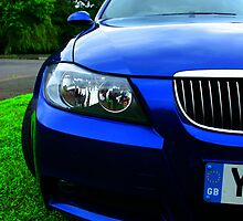 BMW Half Front End  by samrossimages