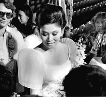 Imelda Marcos Working The Crowd. 1981 by cjkuntze