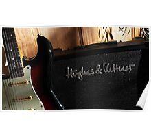 Guitar Icon : '62 Strat ... & amp Poster