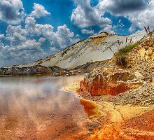 Beautifull mine dumps by Rudi Venter