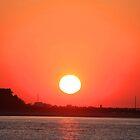 Atlantic Beach Sunset by Stormy Brannan