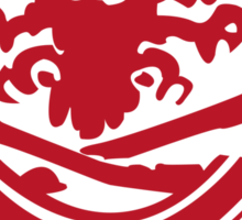 Waylon/Finn Deathskull Wifebeater Logo From Advance Wars Sticker