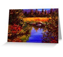 River Reflections on Tuolumne Meadows Greeting Card