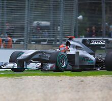 Schumacher Returns to Melbourne by drmark05