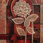 Hydrangea in Arch by Joselyn Holcombe