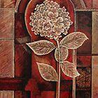 Hydrangea in Arch by Joselyn Holcombe