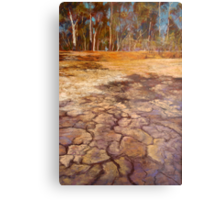 The Water Puzzle Metal Print