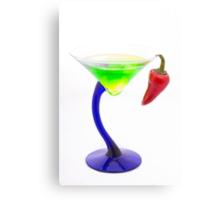 Spicy Martini Canvas Print