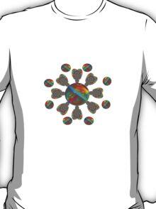 Radial Design T-Shirt