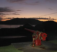 The Guns of Dunree, Buncrana, Co Donegal by piuspeter