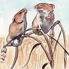 Field Mice by Debbie Jew
