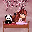 Slumber Party Invitation Card  by Moonlake