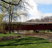 Bogert Covered Bridge - Allentown Pa. by djphoto