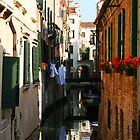 Venice Washday by Christine Wilson