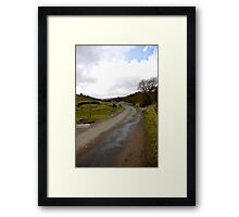 Country Road - Coverdale #1 Framed Print