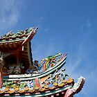 Rooftop of Chinese temple by BengLim