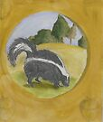 Iconic Skunk by Kay Hale