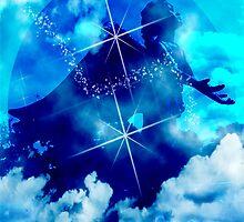 An Angel Sings Praise by Marie Sharp