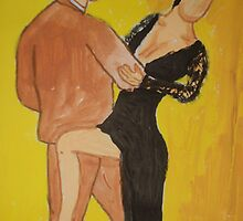 Yellow Tango by Alison Pearce
