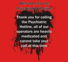 Psychiatric Hotline: Busy Signal by RPGesus