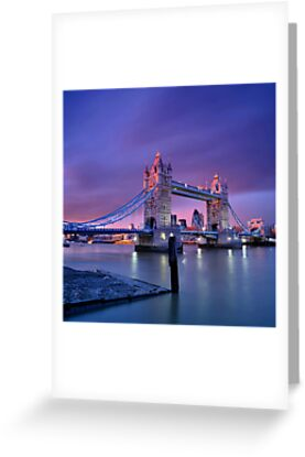 London Tower Bridge by Sebastian Wuttke