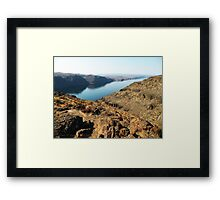 Not a Mirage Framed Print