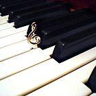 Piano's Treble Clef by JasVN