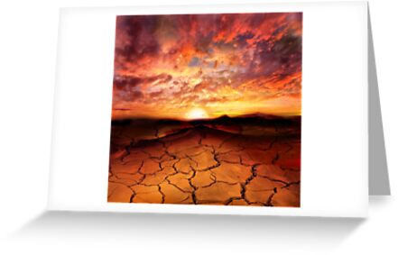 Scorched Earth by PhotoDream Art