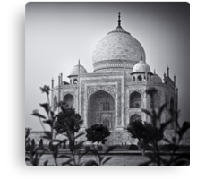 Mausoleum of Mumtaz - Taj Mahal Canvas Print