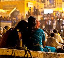 Puja - Varanasi by Andrew To