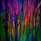 Trees..Abstract...Just Before Dawn by  Janis Zroback