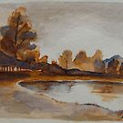 Landscape Sketch#2 by MegJay
