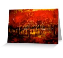 Trees..The Orchard Greeting Card