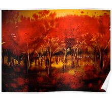 Trees..The Orchard Poster