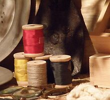 Spool Of Thread by AuntieJ