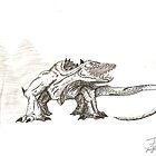 untitled, giant lizard by MrJakk