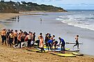 Surf School at Torquay by Darren Stones
