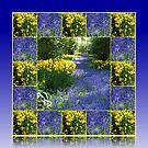 Keukenhof Gardens - Flower Lane Collage by BlueMoonRose