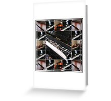 Musical Reflections Greeting Card