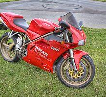 Ducati 996, Teretonga by Tony Burton