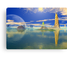Coral Sea Canvas Print