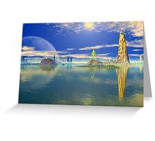 Coral Sea Greeting Card