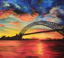 Sydney Harbour by Terry Matthews