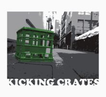 KICKING CRATES 1 by Greg Tippett