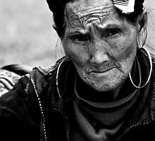 Black Hmong - Sapa, Vietnam by Claire Rivers