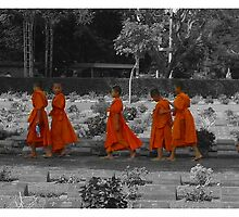 The Orange March by Skinno