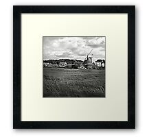 The windmill at Cley-Next-the-Sea, Norfolk, UK Framed Print