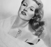Rita Hayworth by Nicole I Hamilton