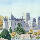 Autumn - Château, La Rochefoucauld, France by ian osborne