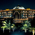 Emirates Palace at night  by Tarek Solh